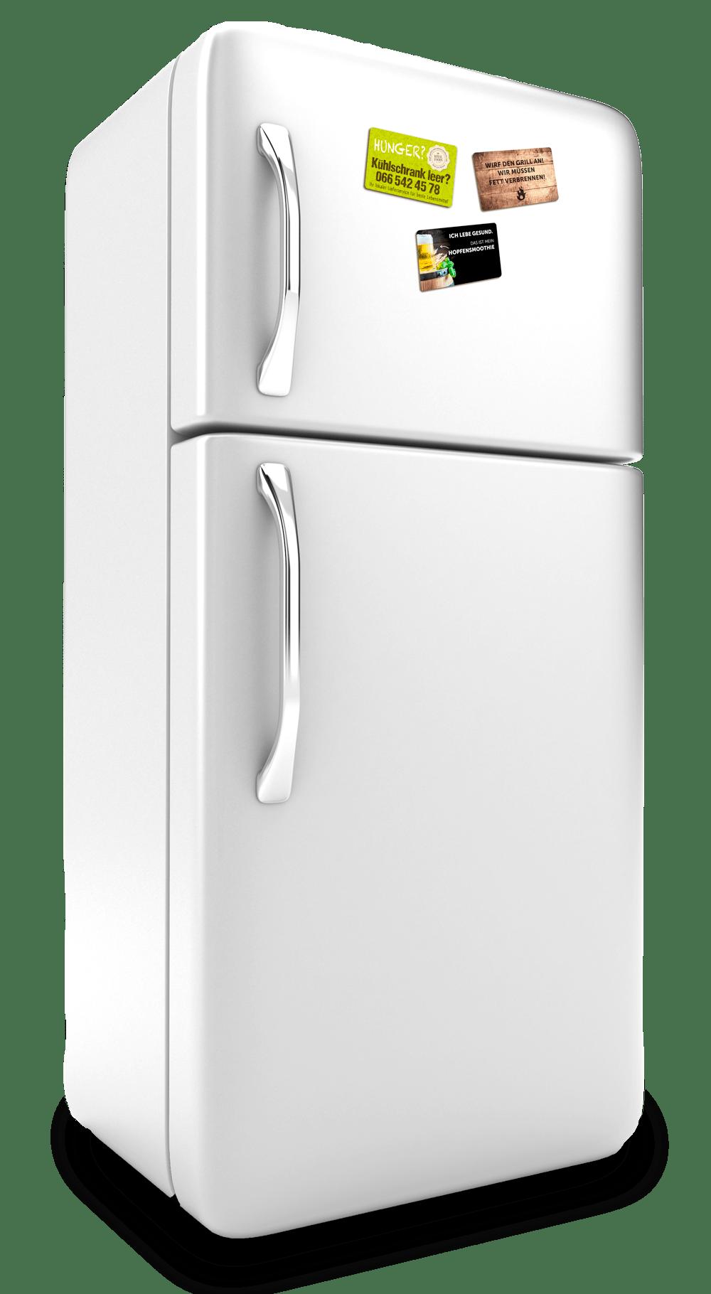 Kühlschrank mit Magnethaftkarten Kühlschrankmagneten