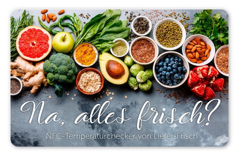 Temperaturlogger für Lebensmittelüberwachung