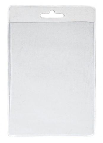 Kartenhülle Weich-PVC hochformat