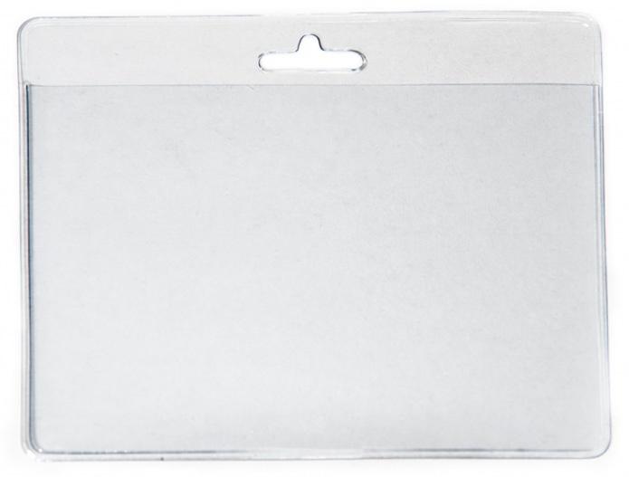 Kartenhülle Weich-PVC querformat