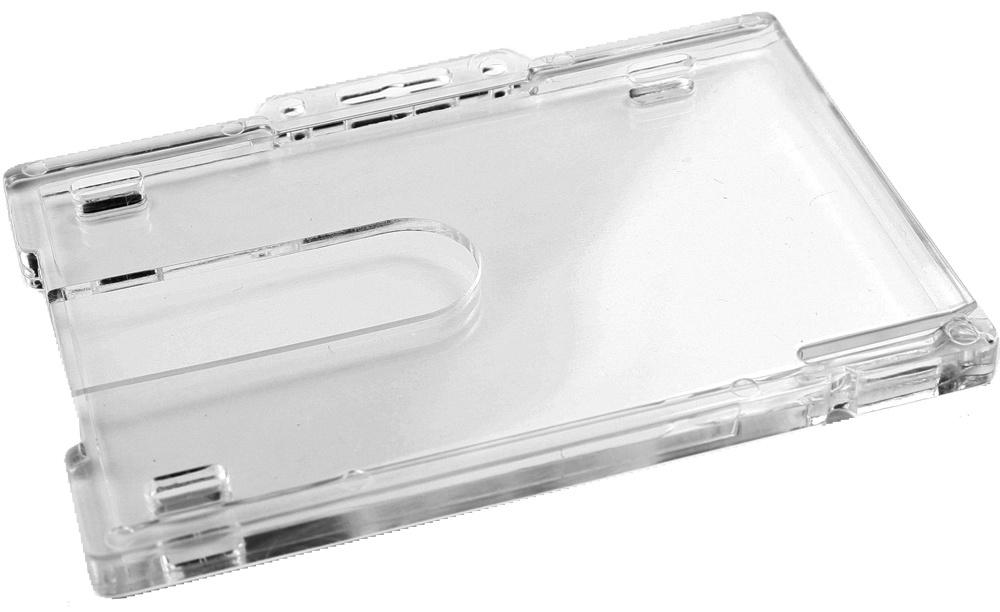 Polycarbonat Ausweiscontainer klar