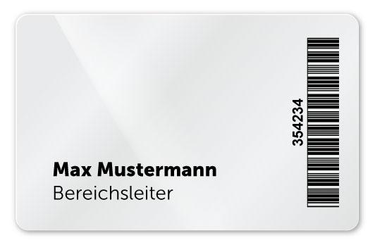 Plastikkarte mit Thermotransferdruck Personalisierung