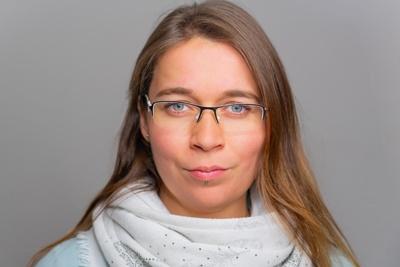 Portrait Judith Bergner Plasticard-ZFT