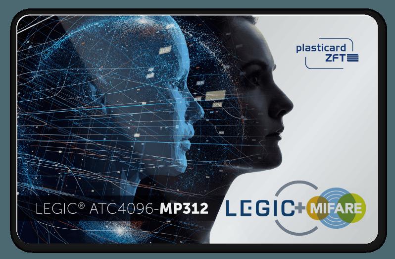 Musterkarte mit LEGIC ATC MP312